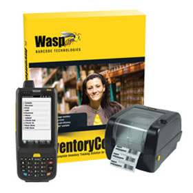 Wasp, Inventory Control Rf Professional With Hc1 (Numeric Keypad) Mobile Computer And Wpl305 Barcode Printer