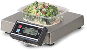 AVERY BRECKNELL, 6112 PORTION SCALE, TOUCHLESS ZERO WITH 7' DISPLAY CABLE, NO BRACKET, 240 OZ X 0.1 OZ, SIX DIGIT LCD DISPLAY