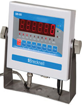 AVERY BRECKNELL, SBI-505, INDICATOR, STANDARD, PAINTED MILD STEEL, LED DISPLAY, IP65