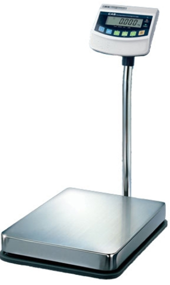 CAS CORP, SCALE, BW SERIES BATTERY OPERATED BENCH PLATFORM SCALE