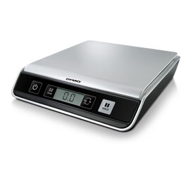 DYMO, SCALES, M25, DIGITAL POSTAL SCALES, USB CONNECT, 25 LB, PC/MAC COMPATIBLE