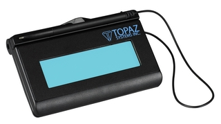 Topaz SIGLITE LCD 1X5 (USB Backlit), ELECTRONIC SIGNATURE PAD, WITH SOFTWARE