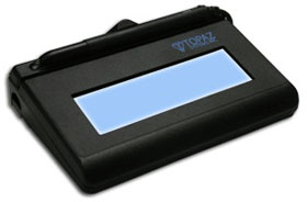 TOPAZ, SIGLITE LCD 1X5 (USB BACKLIT),ELECTRONIC SIGNATURE PAD, WITH SOFTWARE, WITH 2 YEAR FACTORY WARRANTY