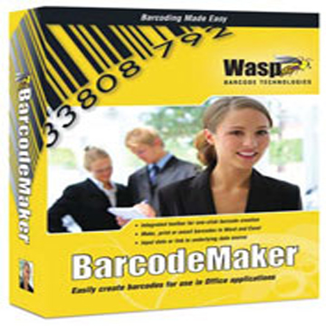 WASP, BARCODE MAKER (1 USER LICENSE)