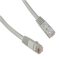 SYSTEM, CABLE, 5FT CAT.5E MOLDED SNAGLESS PATCH CABLE GRAY