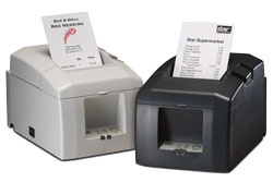 STAR MICRONICS, TSP654IIU-24 GRY US, THERMAL PRINTER, CUTTER, USB, GRAY, POWER SUPPLY INCLUDED, INTERFACE IS SWAPPABLE