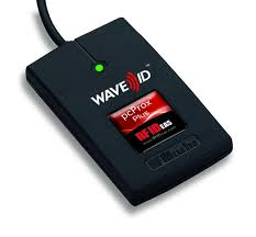 RFIDEAS, WAVE ID PLUS , BLACK, 5V PIN9 RS232